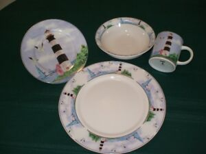 Lighthouse Dishes - 8 piece setting