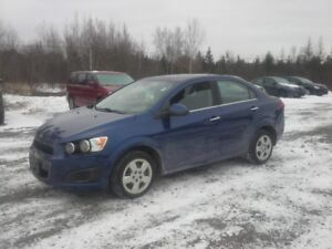 2013 Chevrolet Sonic Sedan !! FULLY LOADED !! AUTO !!