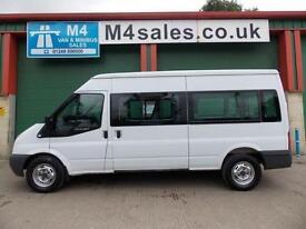 Ford Transit 350 9 Seat Minibus with storage