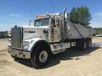 2001 Kenworth W900B Dump Truck - 6NZ CAT
