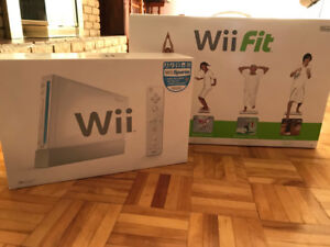 Mint Condition Wii Console & Wii Fit