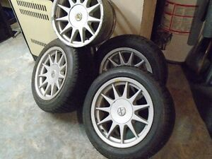 4 hartge 7 1/2x16 in wide rims