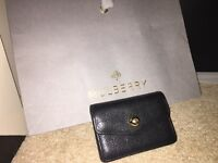 Mulberry leather purse card holder. Perfect condition