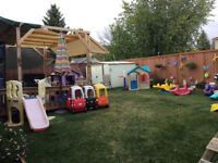 Stay & Play Home Daycare has 1 Full-Time Opening!