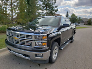 Price Reduced 2015 Chevrolet Silverado Quad Cab 4X4 LT Z71