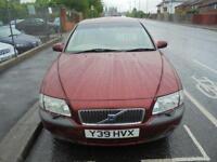 2001 Y VOLVO S80 2.4 D5 S 4D 161 BHP DIESEL