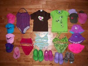 plus de 80 vêtements fille 7ans 8 ans et accessoires IMPECCABLE!