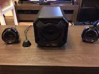 Philips 2.1 Speakers
