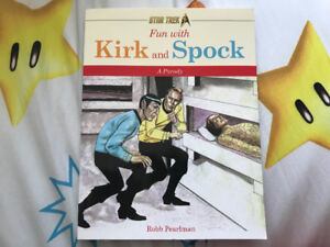 Star Trek: fun with Kirk and spock book