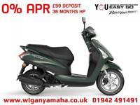 YAMAHA LTS125 DELIGHT 125cc AUTOMATIC RETRO SCOOTER. 0% APR 99 DEPOSIT...
