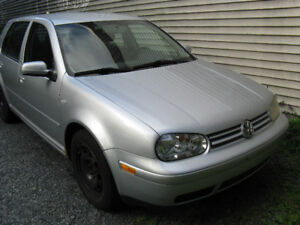 2003 Golf with 1yr MVI and 187K