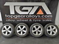"16"" Genuine CADDY SIMA Alloy Wheels & Tyres"