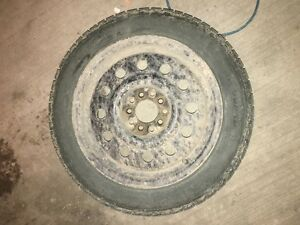 2 winter tires with rims - 195-55-R16 Regina Regina Area image 1