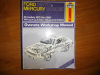 1975-1980 Ford Pinto and Mercury Bobcat Service Manual