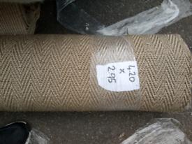 Herringbone sisal flooring (free delivery)