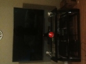 Lg tv and tv stand