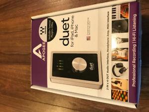 Apogee Duet 2 Interface + SM7B microphone + Accessories