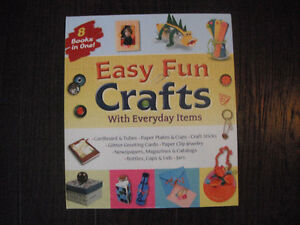 Easy Fun Crafts With Everyday Items Book
