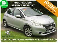 12 Peugeot 208 1.4HDi Access+ ZERO TAX~1 Owner~Full History~HP Available|Not 207
