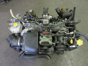 JDM Subaru Legacy 99-02 EJ20 Engine Twin Turbo EJ20 Engine