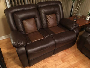 Sofa et Causeuse inclinable - Reclining Sofa and Loveseat