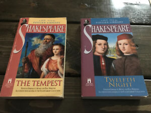 The Tempest & Twelfth Night - Two William Shakespeare Playbooks