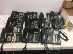 Système téléphonique Nortel complet avec téléphones!