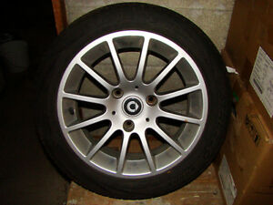 smart 451 rear alloy wheel and tire 1/2 available