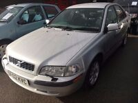 VOLVO S40 1.8 PETROL AUTOMATIC 2002