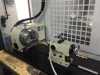 """CNC Rotary Table - 8"""" with Tailstock - FANUC motor - 2014"""