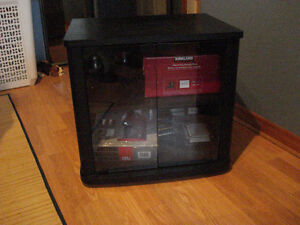 Black Tv stand Windsor Region Ontario image 1