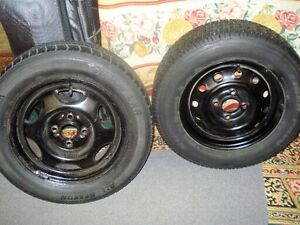 4 tires and rim honda civic up for sale good condition