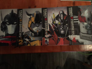 Transformers Phase 2 Hardcover books 1-4
