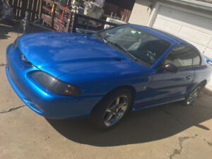 TRADE MY FORD MUSTANG FOR YOURTRUCK / CYCLE / SLED   OR ???
