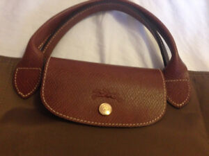 Longchamp Large Le Pliage Bag in New Khaki Green