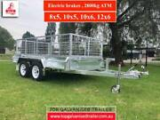 8x5 FULLY WELDED GALVANISED TRAILER,ELECTRIC BRAKES 2800KG ATM Thomastown Whittlesea Area Preview