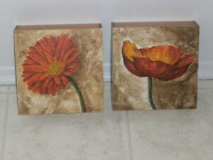 CADRES (2) Giglee Canvas Print - par B. Dinwoodie - $12.00