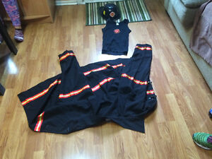 Firefighter Halloween coustme men's worn once great shape!! St. John's Newfoundland image 1