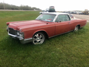1969 Lincoln 2DR