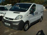 VAUXHAL VIVARO 1.9 2006 DIRECT FROM BT 71K FSH ONE OWNER