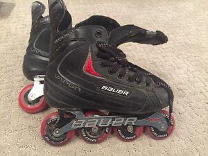 Boy's Bauer vapour Inline Skates size 6