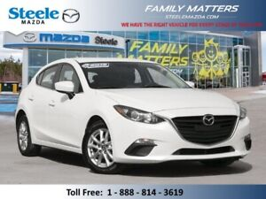 2016 MAZDA MAZDA3 Sport GS  (Unlimited KM Warranty)