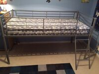 Single bunk bed frame only.