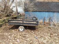 **SOLD**6ft X 5ft - Utility Trailer (fully wired)