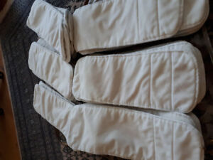 Cloth diaper soakers