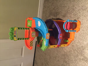 Vtech Spinning Spiral Tower Playset, Cars Toy
