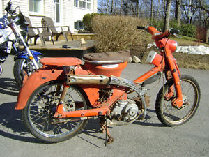 Single Cylinder Hondas From The 1960s