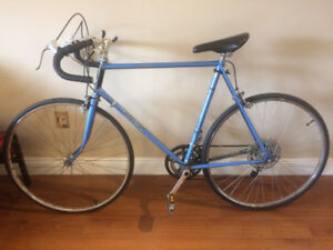 Vintage Raleigh Record 10 Speed Road Bike
