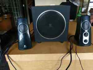 Logitech speakers, sound awesome!