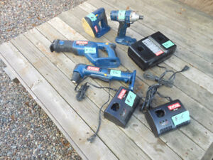 Ridgid and Ryobi Tools, Chargers and Batteries